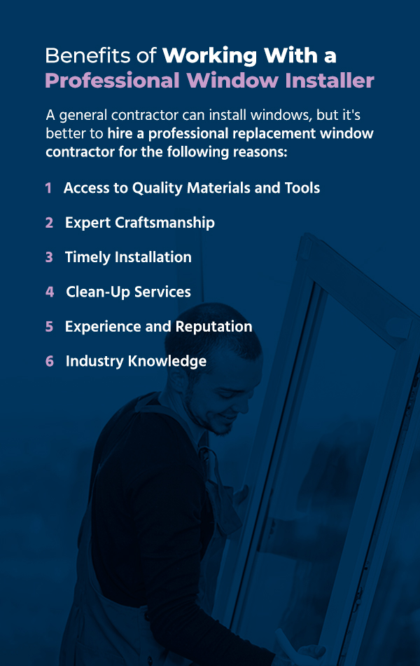 Benefits of Working With a Professional Window Installer