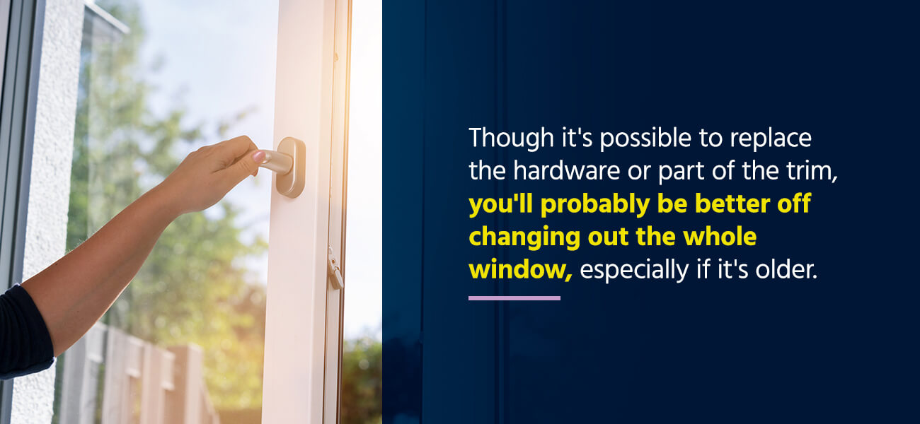 Difficulty Opening or Closing Windows
