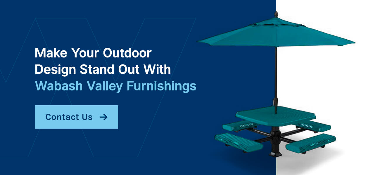 Make Your Outdoor Design Stand Out With Wabash Valley Furnishings