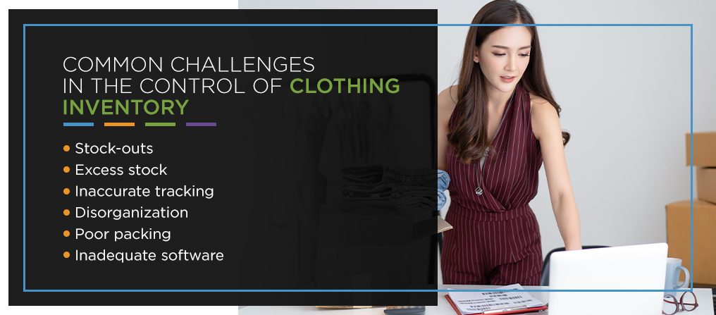 clothing inventory control challenges