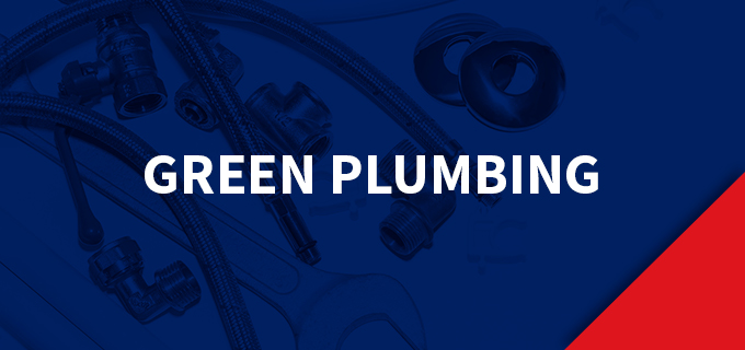 a graphic of green plumbing