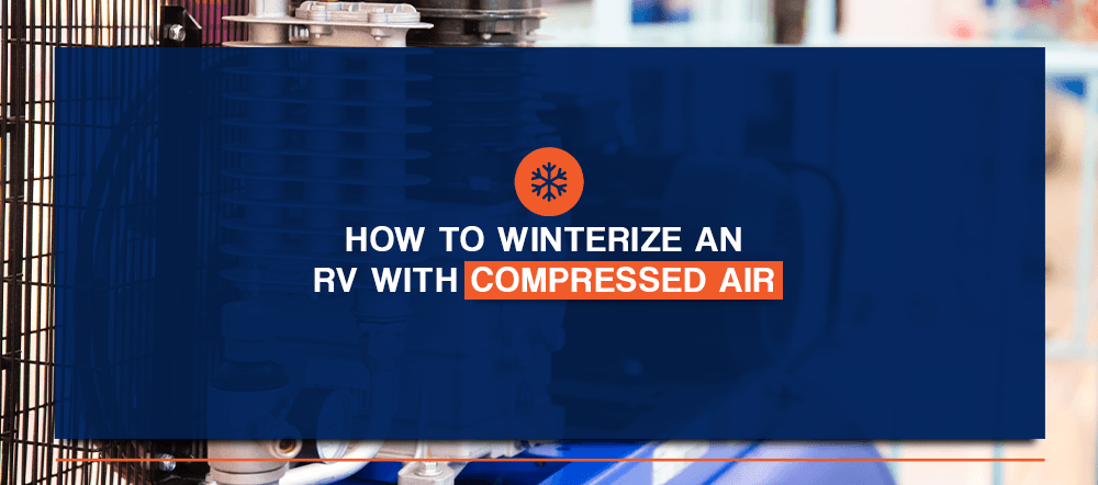how to winterize an rv with compressed air
