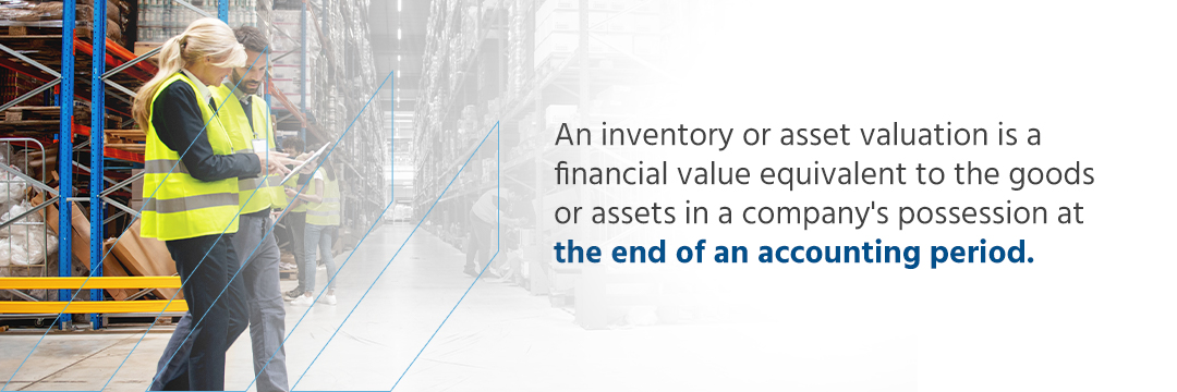 asset valuation report, Generating an Inventory Asset Valuation Report