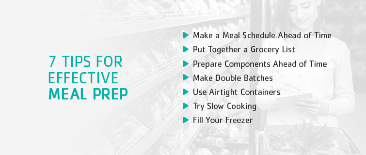 tips for effective meal prep