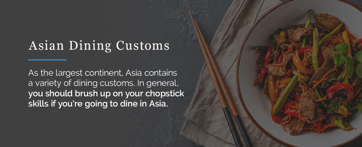 Asian dining customs