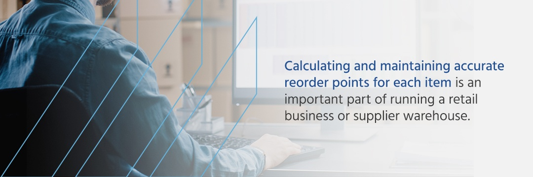 Reorder Points, Reorder Point Control System