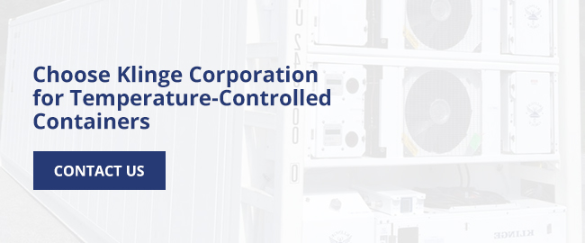 Choose Klinge Corporation for Temperature-Controlled Containers