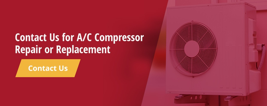 Contact us for AC compressor repair or replacement