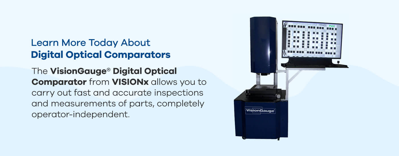 Learn more today about digital optical comparators