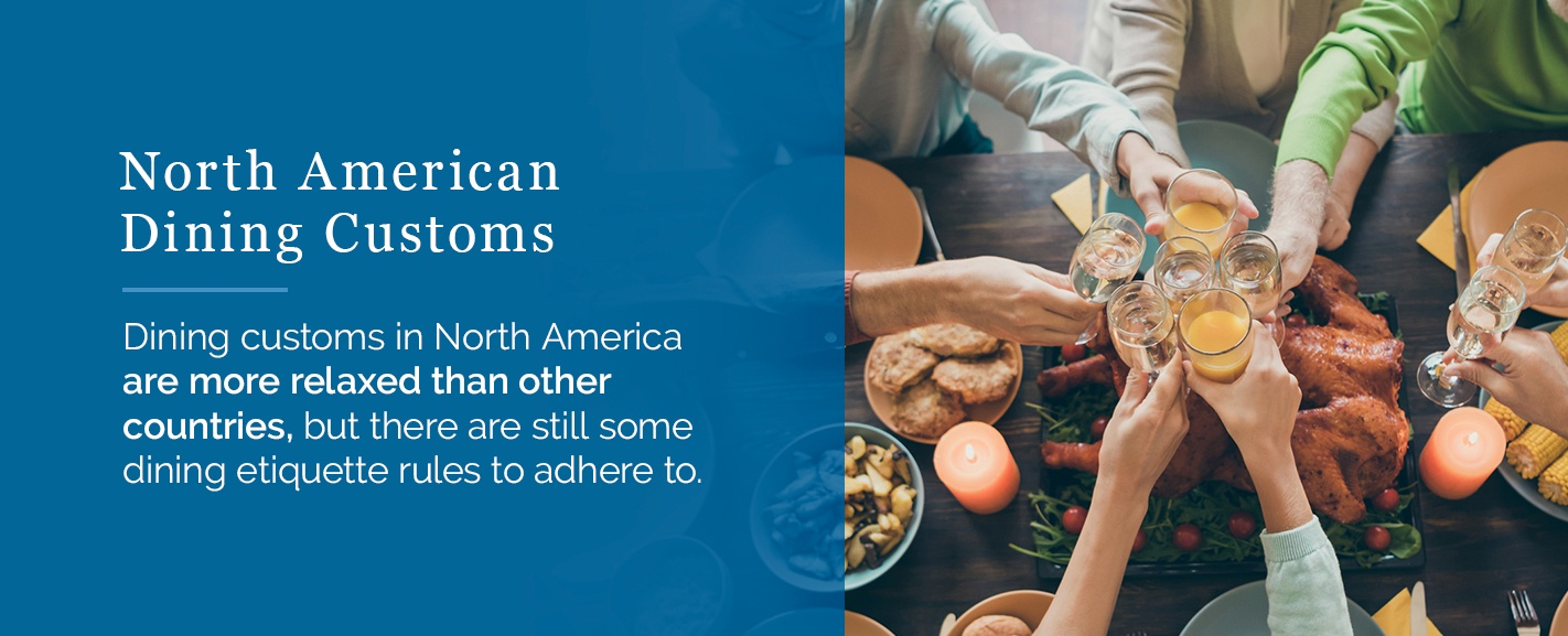North American Dining Customs