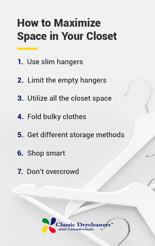 How to Maximize space in your closet