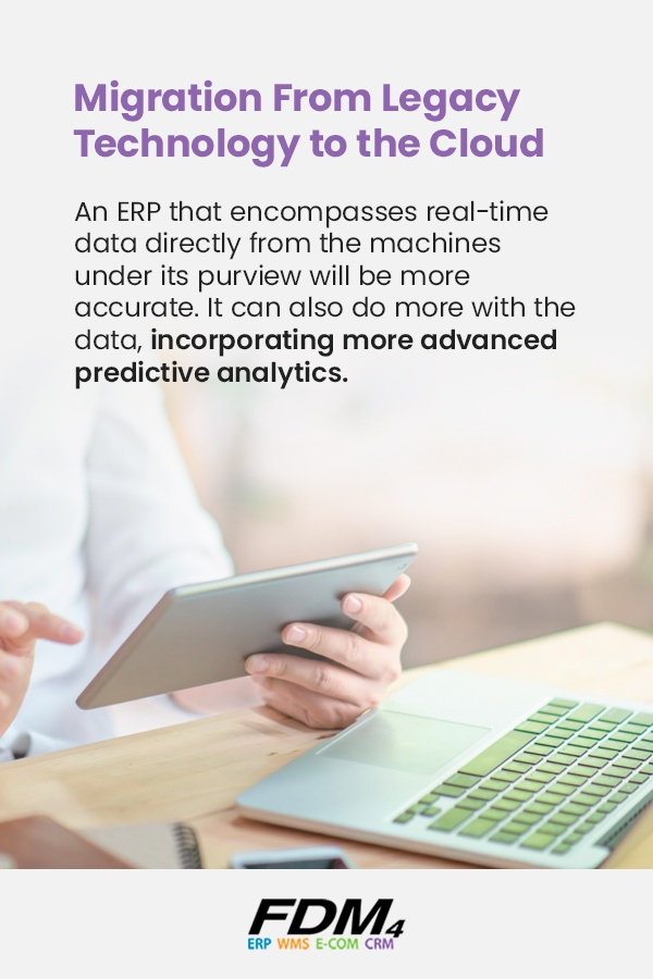 fdm4 provides cloud erp technology for more advance predictive analytics