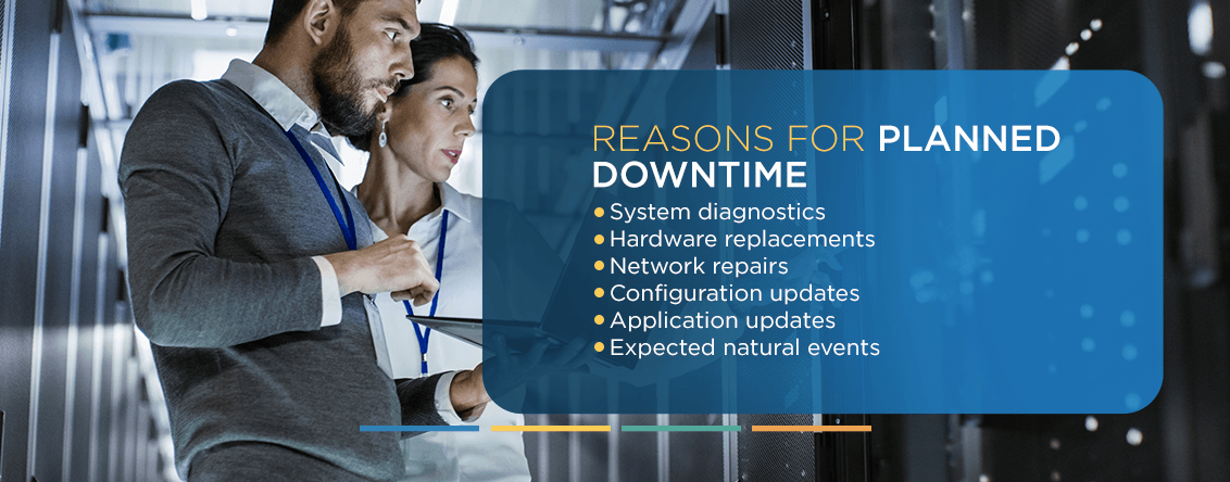 reasons for planned downtime