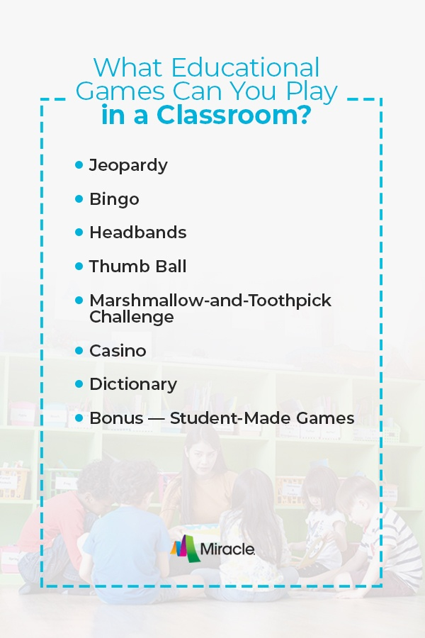 What Educational Games Can You Play in a Classroom?