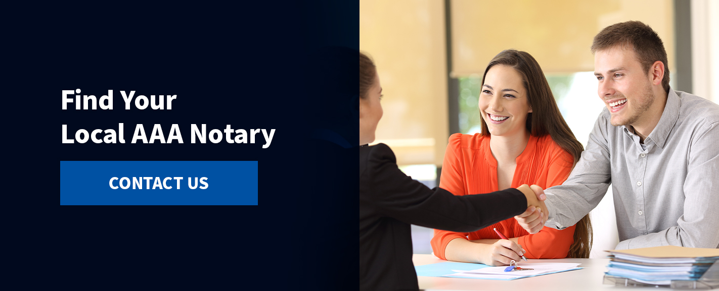 Find your local Notary