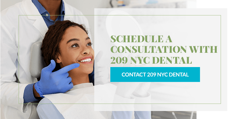 Schedule a Consultation With 209 NYC Dental