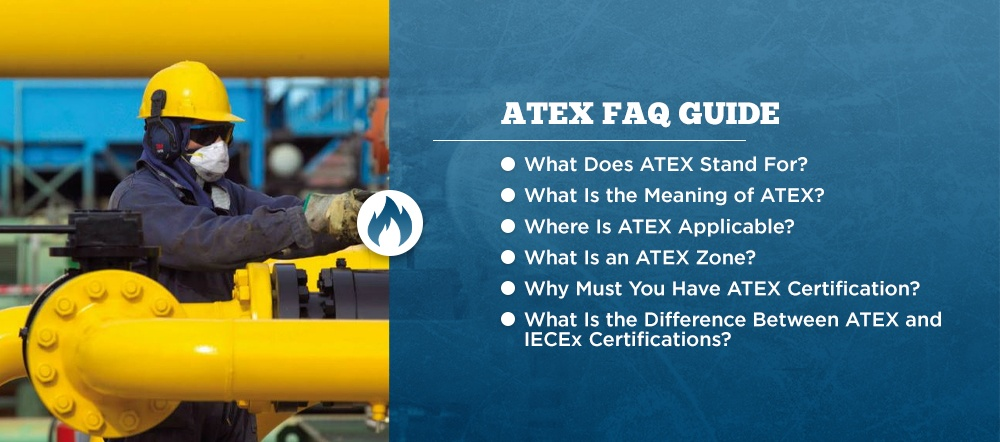 Atex FAQ listed in bullet points