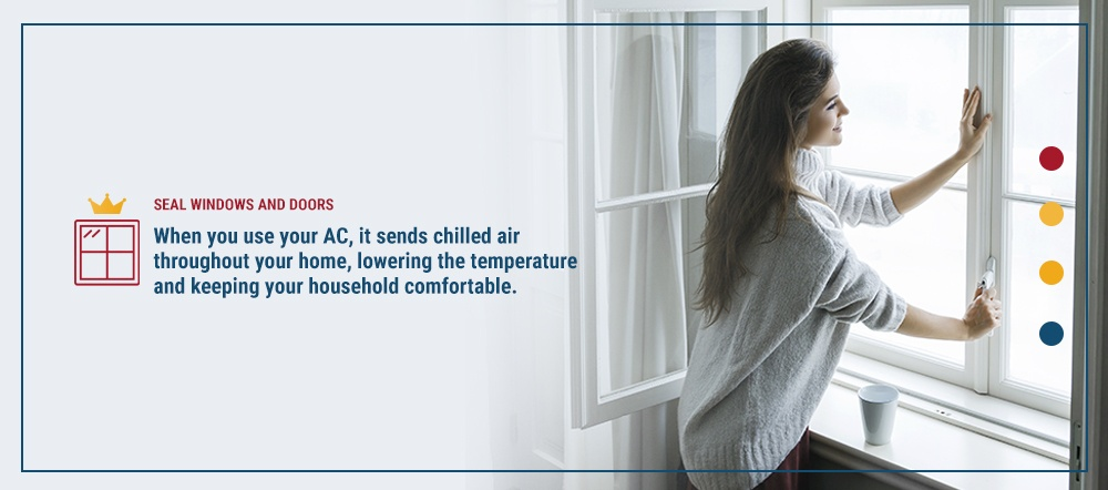 When you use your AC, it sends chilled air throughout your home