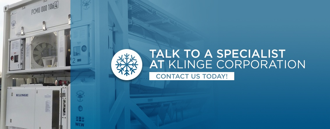 Talk to a specialist at Klinge Corporation today